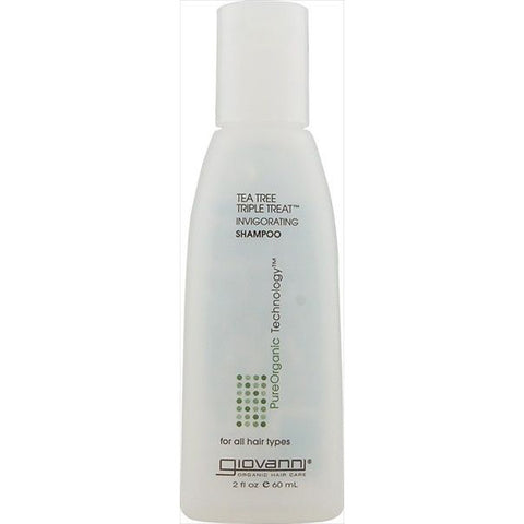 GIOVANNI COSMETICS - Shampoo Invigorating Tea Tree Triple Treat