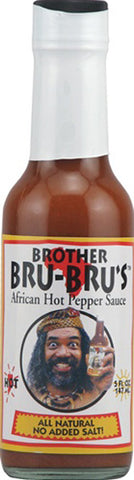 BROTHER BRU BRU - African Hot Pepper Sauce - 5 oz.