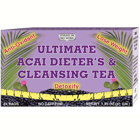 Only Natural Cleansing Dieters Tea Acai