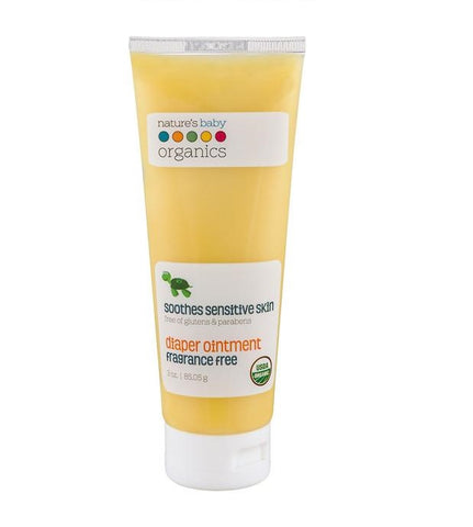 NATURE'S BABY - Organic Diaper Ointment Fragrance Free