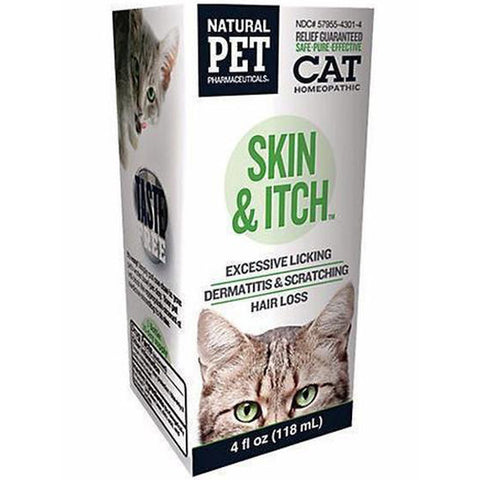 NATURAL PET - Skin & Itch Irritation Relief for Cats
