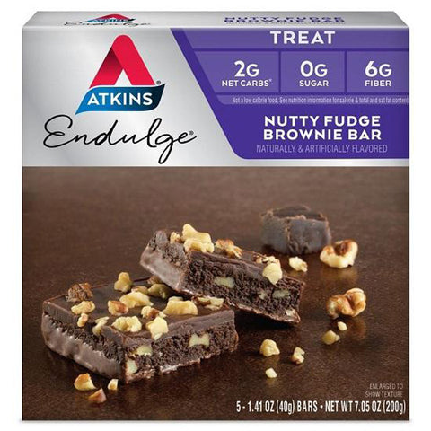 ATKINS - Endulge Nutty Fudge Brownie Bars