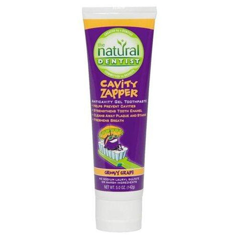 Natural Dentist Cavity Zapper Gel Toothpaste Groovy Grape