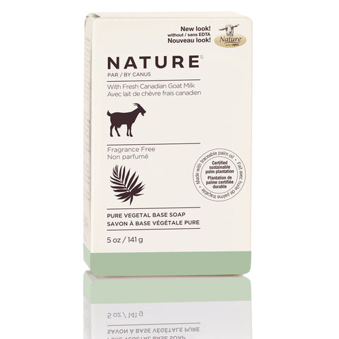 NATURE by CANUS - Nature Pure Vegetal Base Soap Bar – Fragrance Free