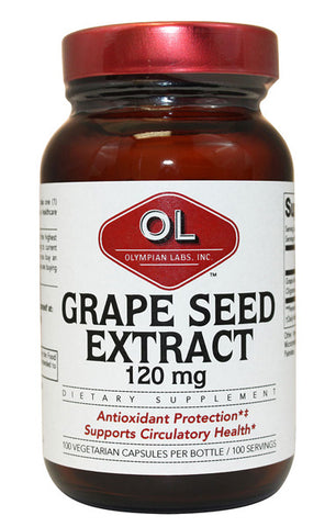 Olympian Labs Grape Seed Extract 120 mg