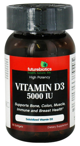 Futurebiotics Vitamin D 5000 IU