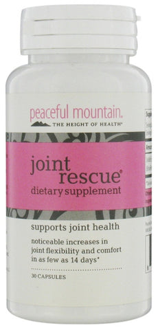 Peaceful Mountain Joint Rescue Dietary Supplement
