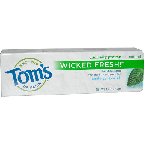 Toms Of Maine Wicked Fresh Toothpaste Cool Peppermint