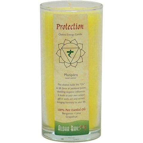 ALOHA BAY - Candle Chakra Energy Jars Protection
