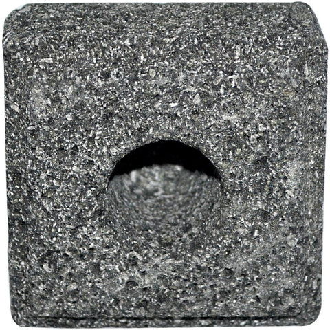 ALOHA BAY - Taper Candle Holder Lava Stone