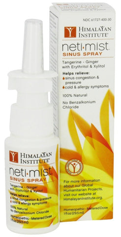 Himalayan Institute Neti Mist Sinus Spray