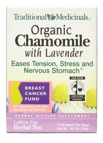 Traditional Medicinal Organic Chamomile with Lavender