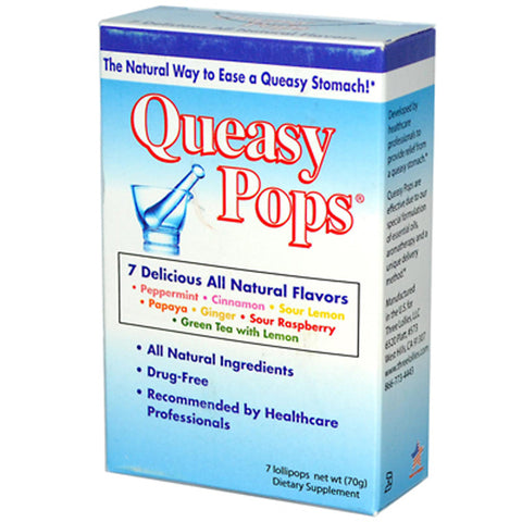 Three Lollies Queasy Pops Assorted Flavors