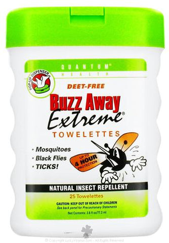 Quantum Research Buzz Away Extreme Towelette Pop Ups