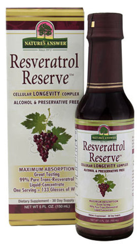 Natures Answer Resveratrol Reserve