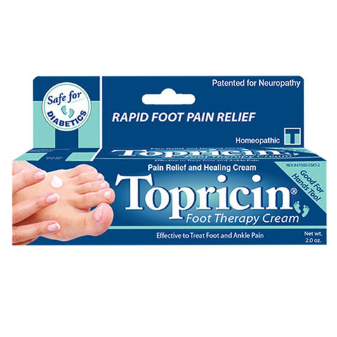 TOPRICIN - Foot Therapy Cream