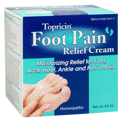 TOPRICIN - Foot Pain Relief Cream