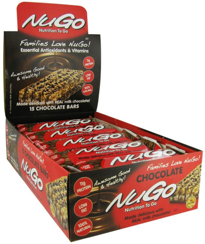 NuGo Nutrition Bars Chocolate