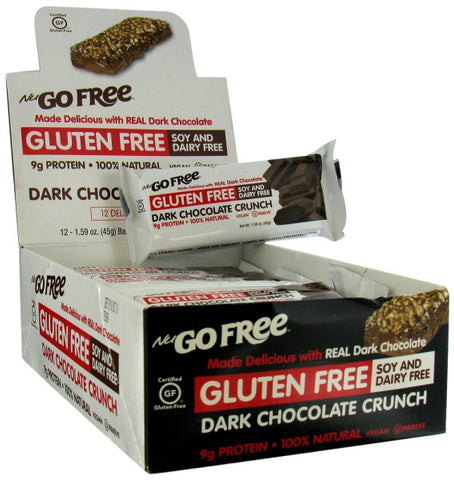 NuGo Gluten Free Bars Dark Chocolate Crunch