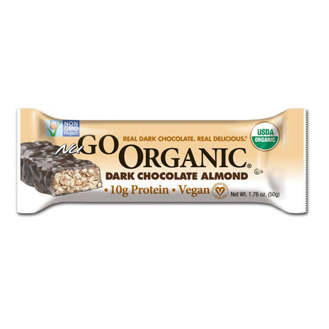 NUGO - Organic Bars Dark Chocolate Almond