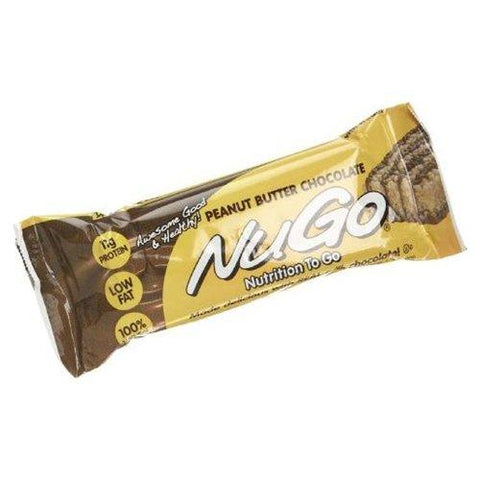 NuGo Nutrition Bars Peanut Butter Chocolate