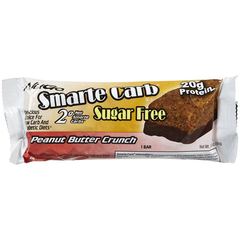 NuGo Smarte Carb Bars Peanut Butter Crunch