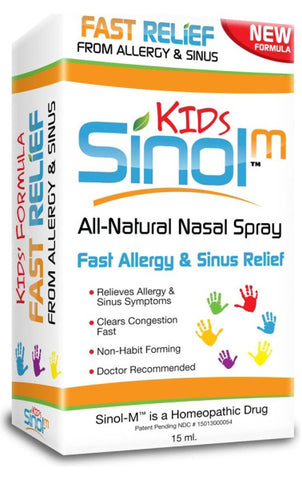 Sinol Sinol M Childrens Allergy Sinus