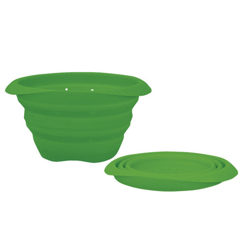 Green Sprouts Collapsible Silicone Strainer Bowl