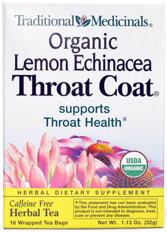 Traditional Medicinal Lemon Echinacea Throat Coat