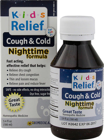 HOMEO - Kids Relief Cough and Cold Nighttime