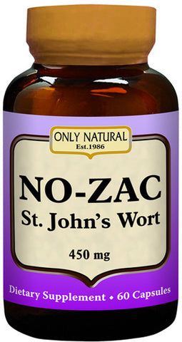 Only Natural No Zac St. Johns Wort