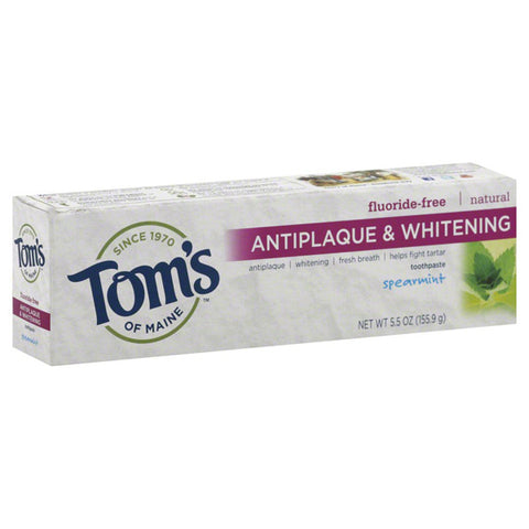 Toms Of Maine Fluoride free Toothpaste Spearmint