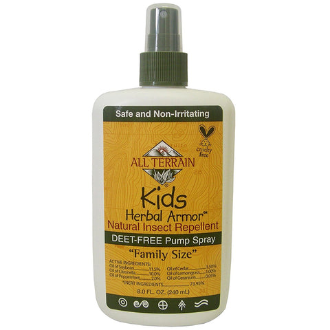 ALL TERRAIN - Kids Herbal Armor Insect Repellent Spray Value Size