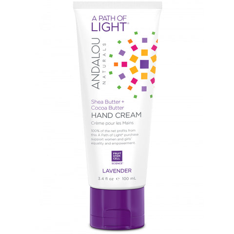 ANDALOU - A Path of Light Lavender Hand Cream