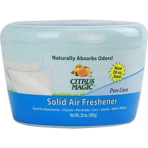 CITRUS MAGIC - Solid Odor Absorber-Pure Linen