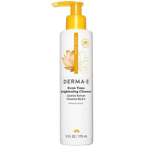 DERMA E - Even Tone Brightening Cleanser