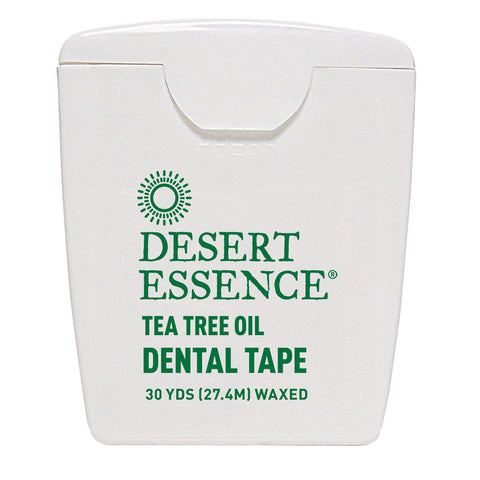 DESERT ESSENCE - Tea Tree Oil Waxed Dental Floss