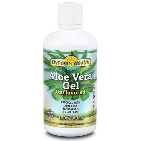 DYNAMIC HEALTH - Organic Aloe Vera Gel Unflavored