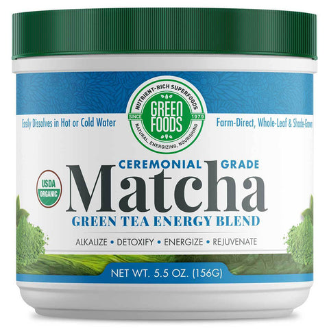 GREEN FOODS - Organic Matcha Green Tea