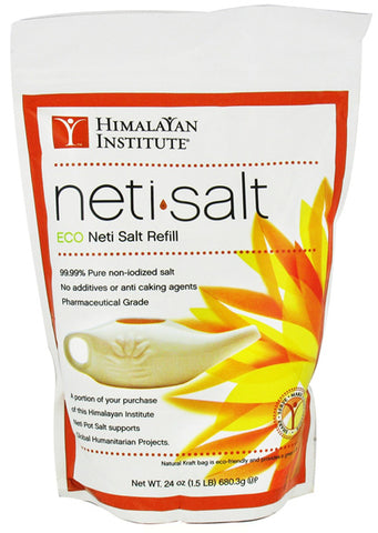Himalayan Institute Neti Pot Refill Bag