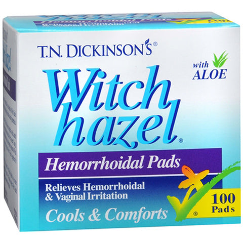 HUMPHREYS - T.N. Dickinson Hemorrhoidal Pads