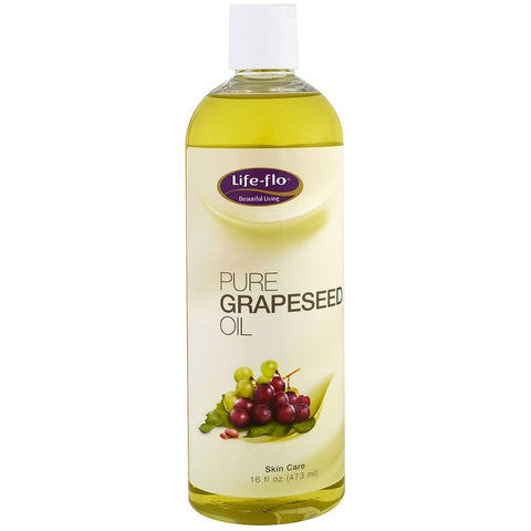 Life Flo Pure Grapeseed Oil - 16 oz