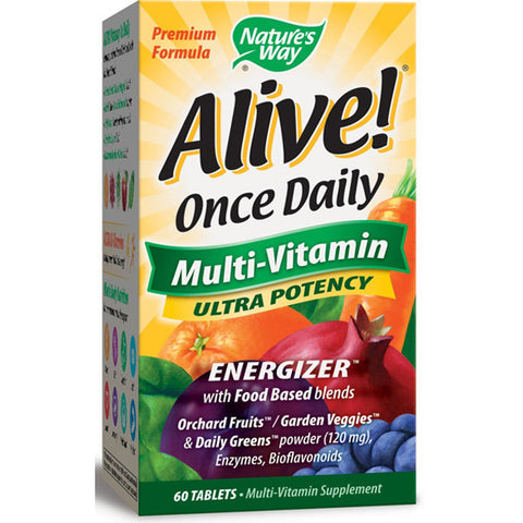 NATURES WAY - Alive Once Daily Multi-Vitamin Ultra Potency