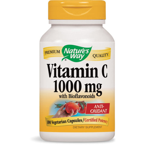 NATURES WAY - Vitamin C 1000 mg with Bioflavonoids