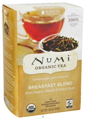 Numi Tea Breakfast Blend Black Tea