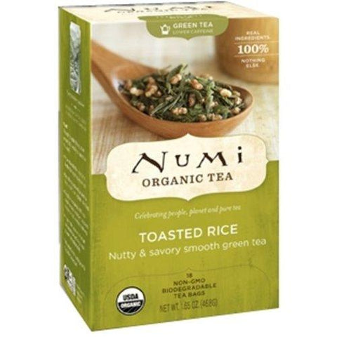 Numi Tea Toasted Rice Green Tea