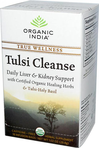 Organic India - Tulsi Wellness Tea-Cleanse