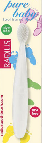Radius Pure Baby Ultra Soft Toothbrush