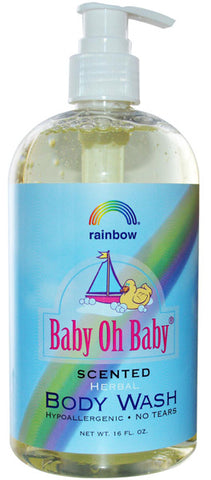 Rainbow Research Body Wash Scented - 16 oz
