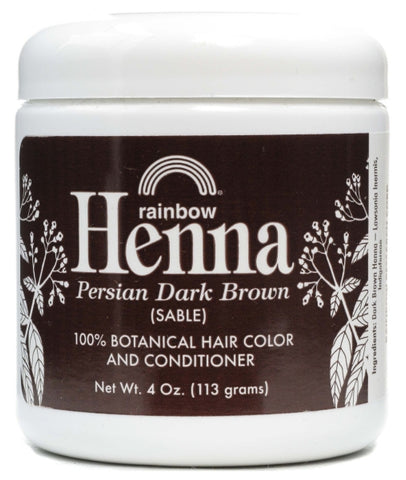 Rainbow Research Dark Brown Henna